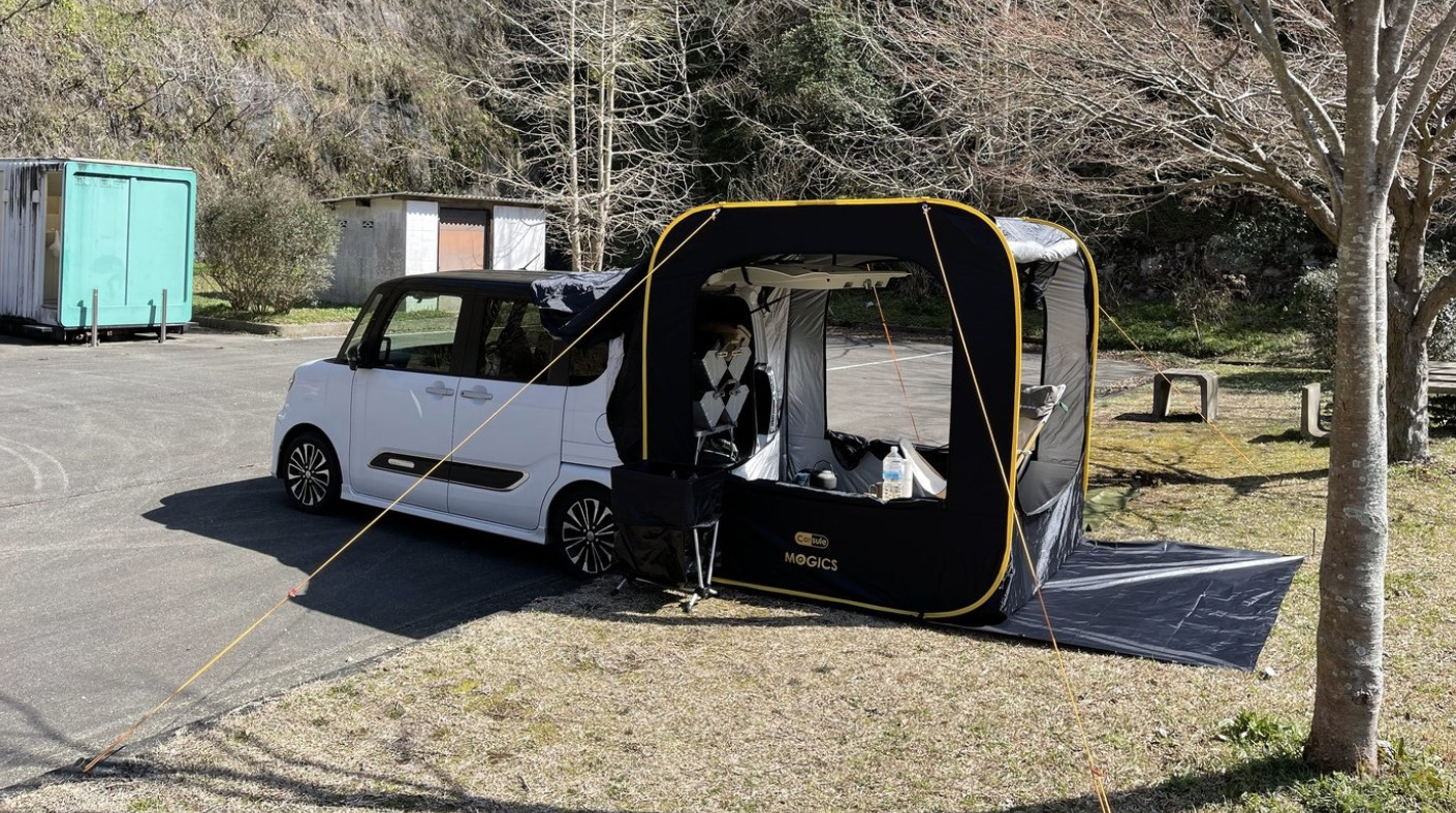 CARSULE(カースル )テントの安定感